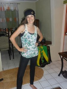 Mary Beth Strawn in Jamaica