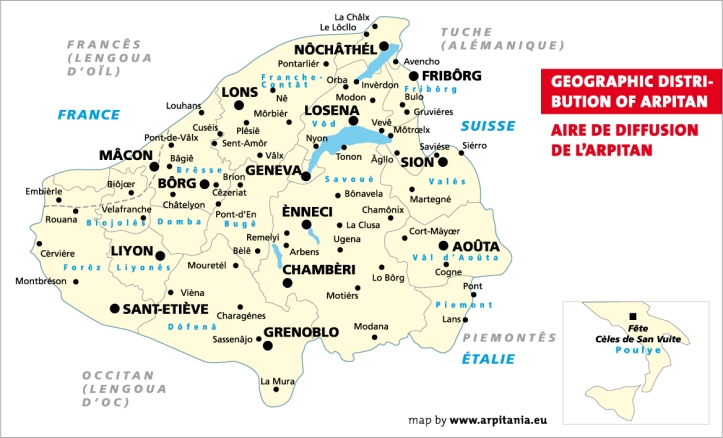 Arpitan_francoprovencal_map