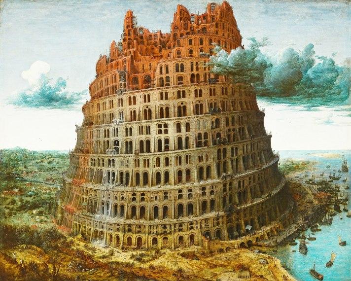 Pieter Bruegel's painting The Tower of Babel